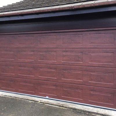 Georgian Sectional Garage Door, Bolton