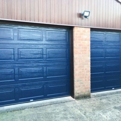 Insulated Georgian Sectional Garage Doors, Barnsley