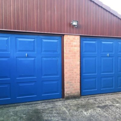 Insulated Georgian Sectional Garage Doors, Barnsley
