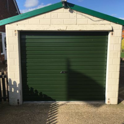 Single Skin Roller Garage Door in Grimsby