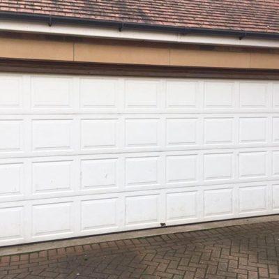 M-Rib Insulated Ribbed Sectional Garage Door, Bridlington