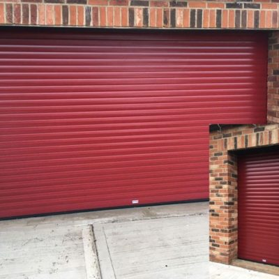 Insulated Roller Garage Doors for New Build, Doncaster