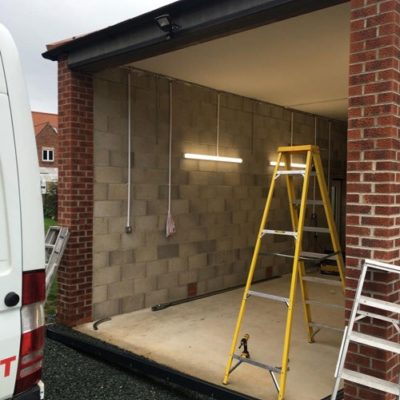 L-Rib Insulated Ribbed Sectional Garage Doors, Leeds