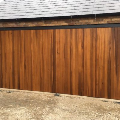 Timber Up & Over Garage Door, Bolton