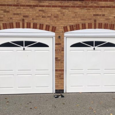 Insulated Sectional Garage Doors in White, York