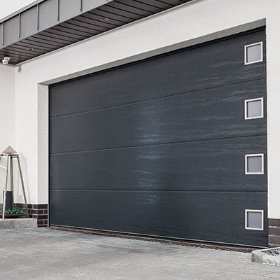 Insulated Designer Sectional Garage Doors