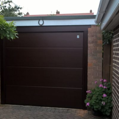 Ribbed Sectional Garage Door, Scunthorpe