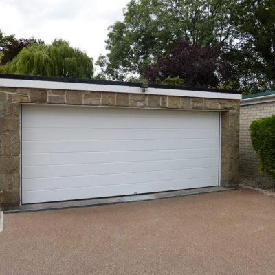 Insulated Sectional Garage Door, Harrogate