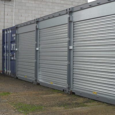 Shipping Container Roller Shutters, Hull