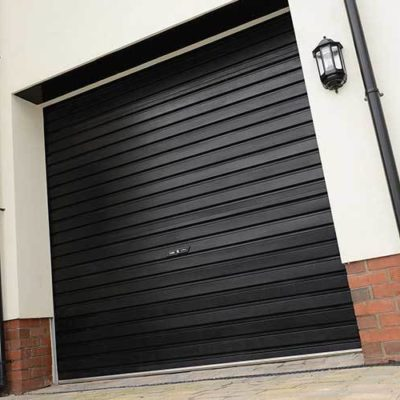 Single-Skin Steel Roller Garage Doors