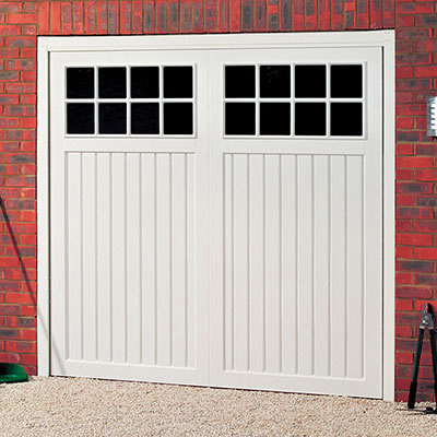 uPVC Up & Over Garage Doors