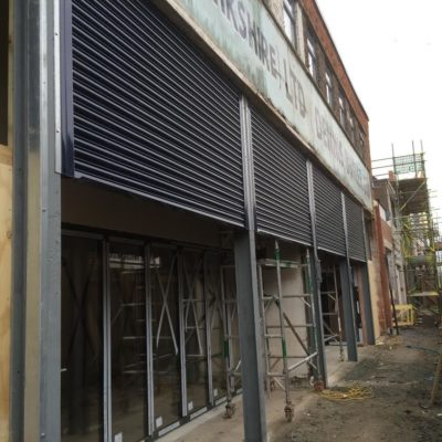 Shop Front Security Roller Shutters, Hull