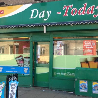 Newsagent Door and Shop Front Security Shutters