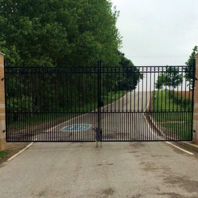 Architect Designed Metal Gates for Hull Collegiate School, Hull
