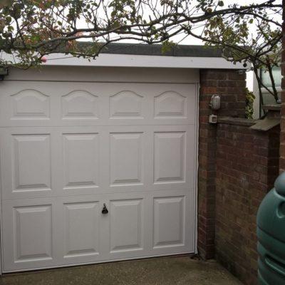 Steel Up & Over Garage Door, Bridlington