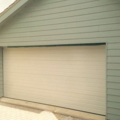 S-Rib Insulated Sectional Door, Hull