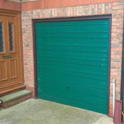 Insulated Roller Garage Door, Hull