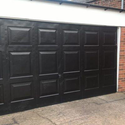 Georgian Insulated Sectional Garage Door, Sheffield