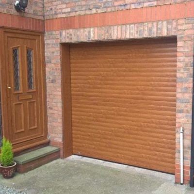 Insulated Roller Garage Door, Hull