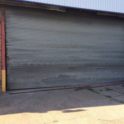 Warehouse Unit Security Roller Shutters, Hull