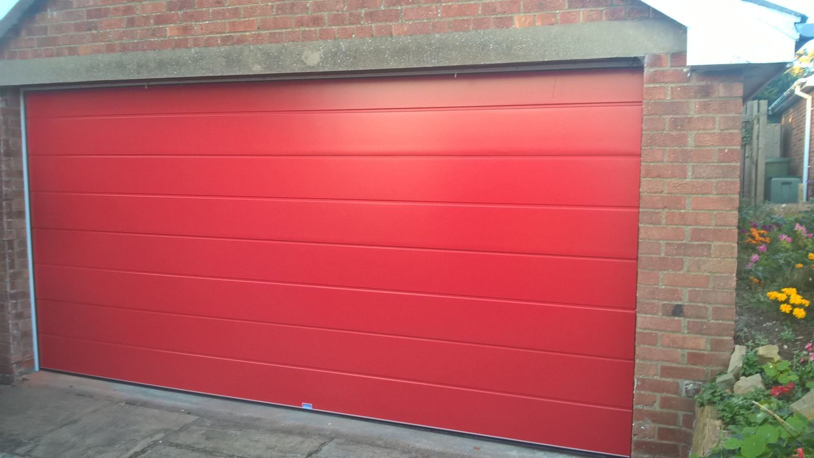 Insulated Ribbed Sectional Garage Door, Barnsley