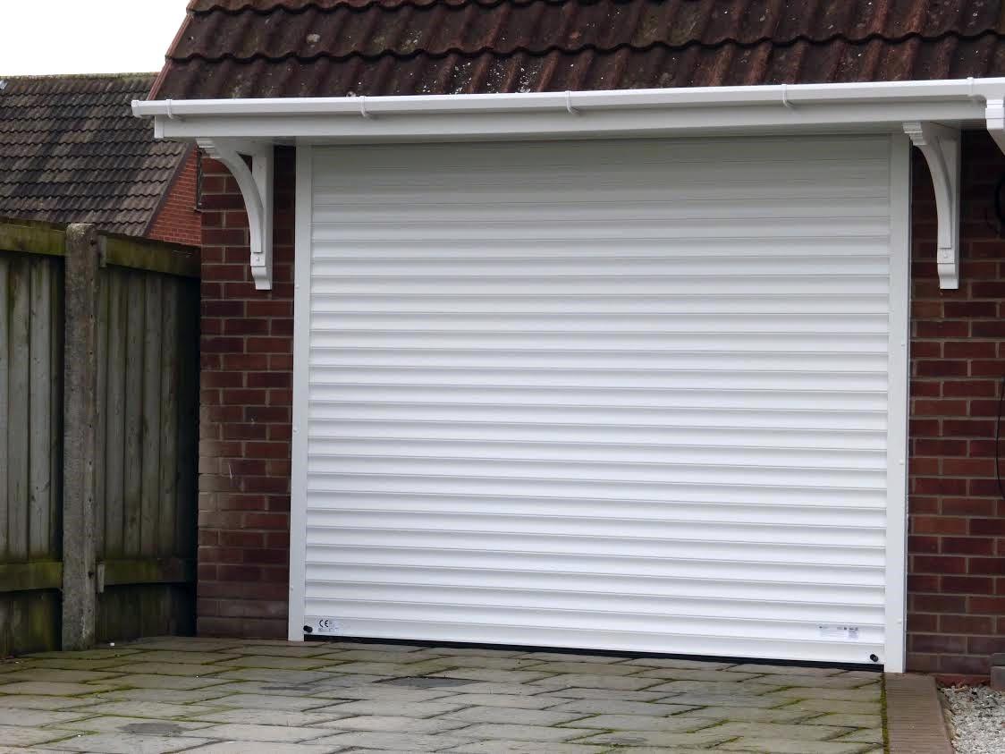 Insulated Roller Garage Door, Leeds