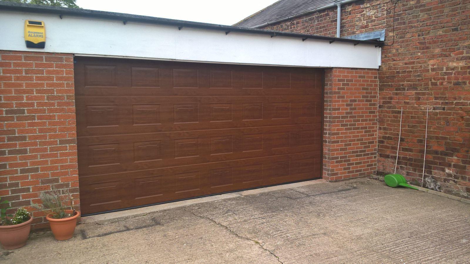 Georgian Insulated Sectional Garage Door, Sheffield