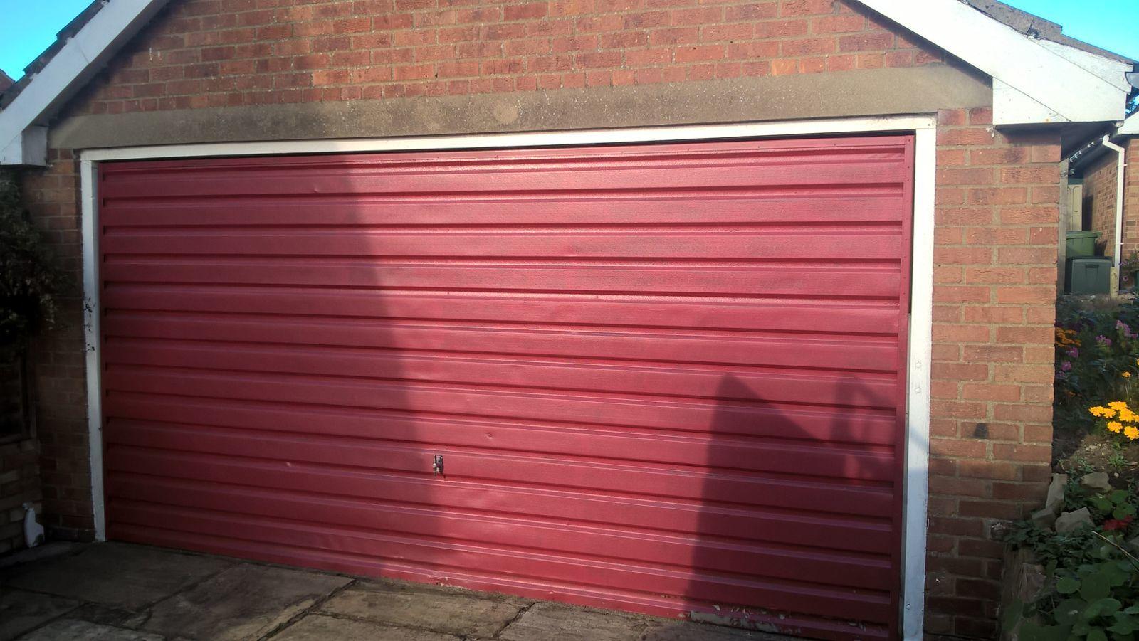 Insulated Ribbed Sectional Garage Door, Barnsley