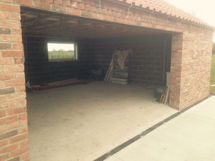 Insulated Roller Garage Door, Doncaster