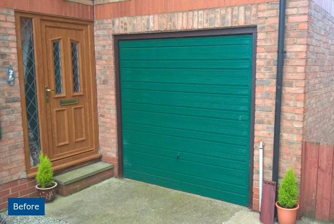 Seceuroglide Insulated Roller Garage Door