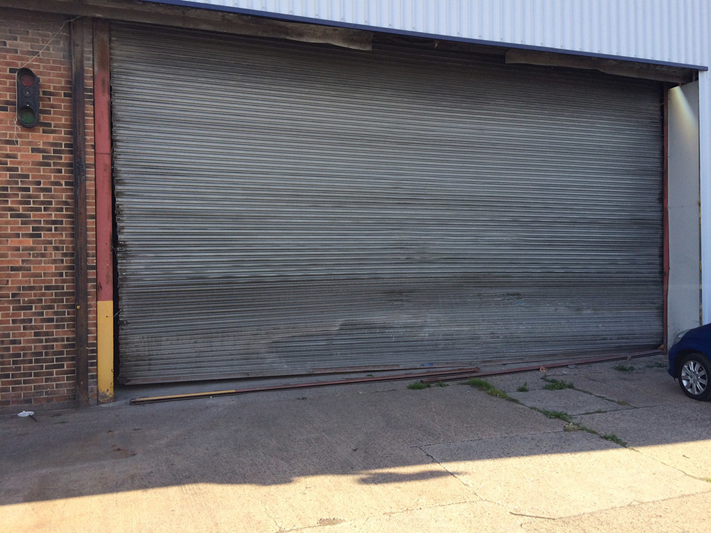Warehouse Unit Security Roller Shutters